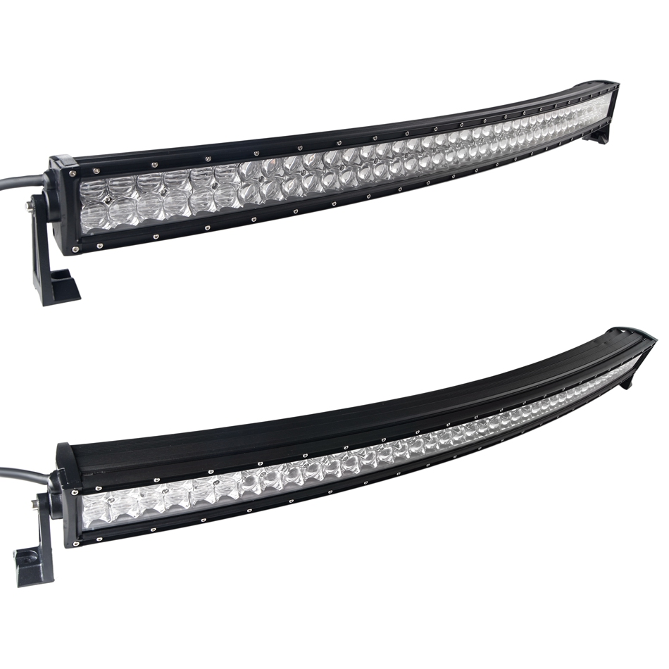 weketory 4D 5D 42 inch 400W Curved LED Work Light Bar for Tractor Boat OffRoad 4WD 4x4 Truck SUV ATV Combo with Switch Wiring 5d 32 inch 300w curved led work light bar for tractor boat offroad 4wd 4x4 truck suv atv 12v 24v with wiring kit