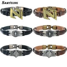 Death Note Dragon Ball Z leather Bracelet for Best Friends (6 styles)