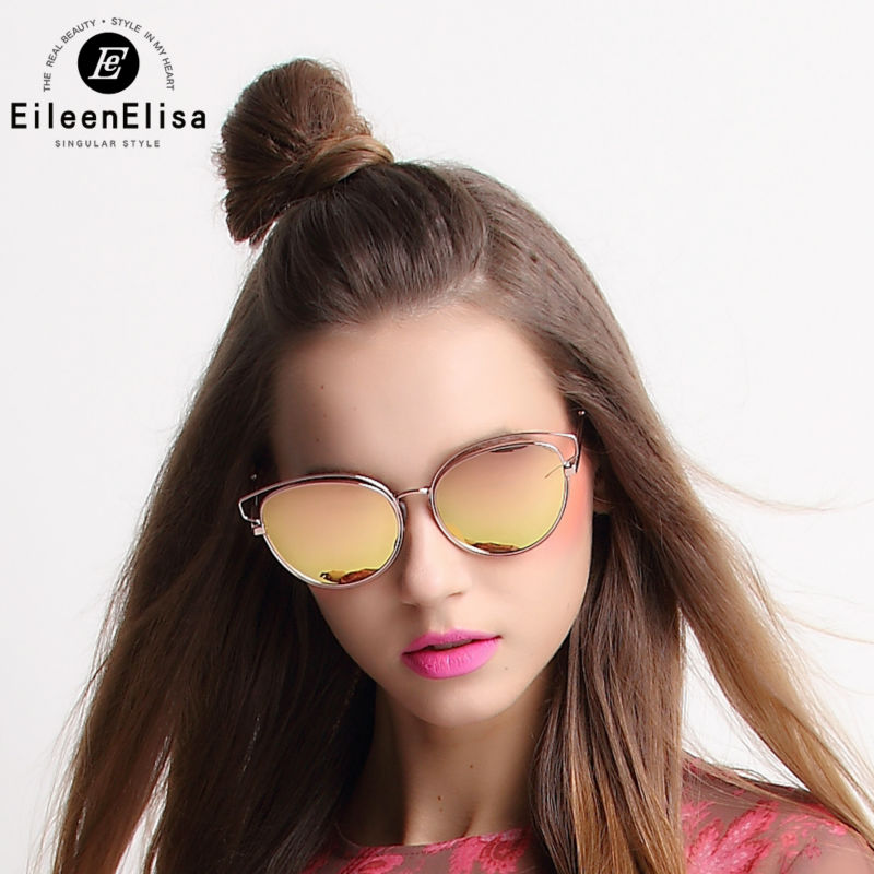 Retro Women Cat Eye Sunglasses Luxury Metal Frame Sunglasses Women Brand Designer Retro Mirror Lens Sunglasses examples of crop adaptation to climate change