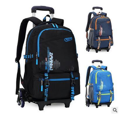 Bagaj ve Çantalar'ten Okul Çantaları'de Çocuklar Haddeleme çanta tekerlekler Çocuk tekerlekli okul erkekler için sırt çantası çocuk Okul Arabası sırt çantası Arabası okul sırt çantası çanta'da  Grup 1
