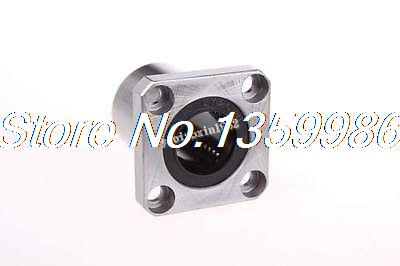 10pcs LMK20UU 20x32x42mm Round Flange Type CNC Linear Motion Sliding Bearing