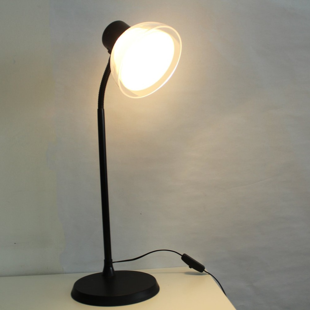6W Vintage LED Desk Lamp Standing Table Lamp Classic Night Lamp Study Bedroom Decoration Lamp For Reading Learning 140*465mm
