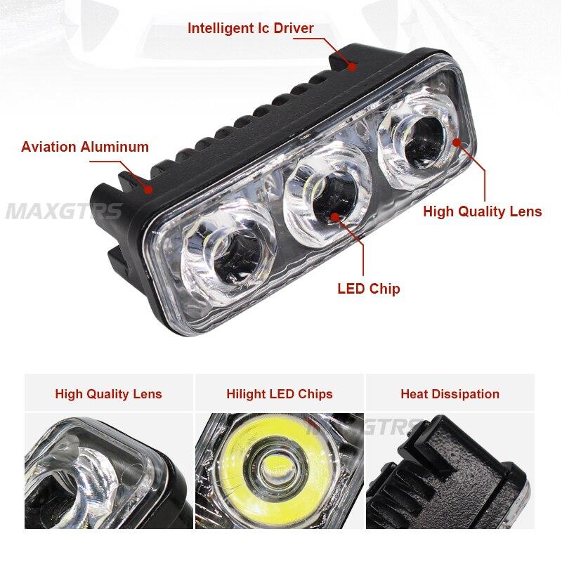 2x αυτοκίνητο υψηλής ισχύος οδήγησε 9W - Φώτα αυτοκινήτων - Φωτογραφία 3
