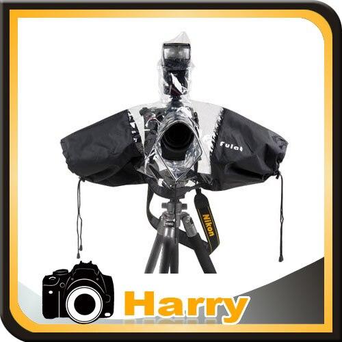 Camera Rain Cover Coat Dust Protector Rainwear Rainproof sony a9 a7r2 a7r3 a6500 6000 a6300 For canon 5d4 5d3 1dx 6d 6d2 7d2 6d2