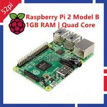 Original Raspberry Pi 2 Model B Broadcom BCM2836 1GB RAM 900Mhz Quad Core ARM Cortex A7 Development Board
