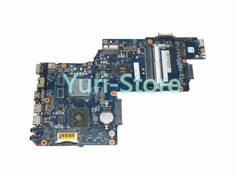 NOKOTION For Toshiba Satellite C850 C855 L850 L855 H000051810 MAIN BOARD E1200 CPU DDR3 nokotion sps v000198120 for toshiba satellite a500 a505 motherboard intel gm45 ddr2 6050a2323101 mb a01