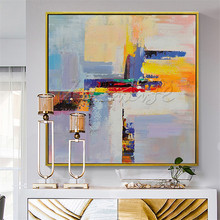 Hand painted canvas oil paintings Cheap large modern abstract cuadros Home decor Canvas quadro wall Art pictures 000029