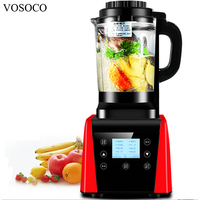 VOSOCO Blender Mixing Machine Ice Crusher Touch Sand Ice Machine 1800W Milkshake Soybean Milk Juicer Heating