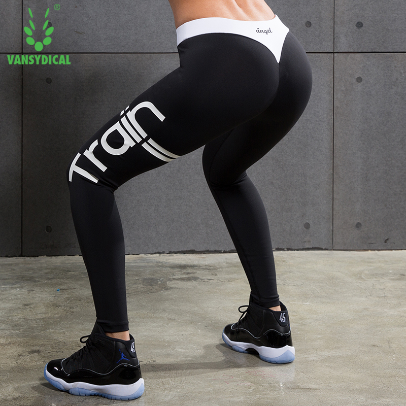2fab1952ad Women Compression Pants Yoga Pants Gear Sports Exercise Tights Female  Fitness Running Long Jogging Trousers Gym Slim Leggings-in Yoga Pants from  Sports ...