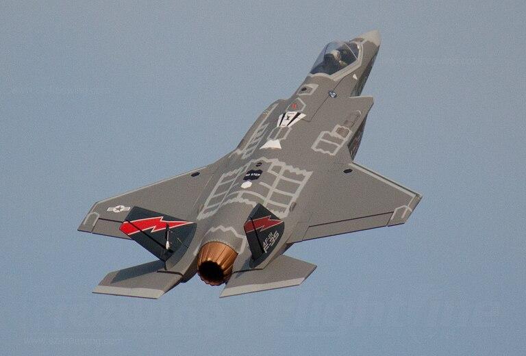 Freewing nuevo epo F 35A 70mm EDF JET PLANE control remoto modelo KIT F 35 F35 avión retráctil RC modelo HOBBY-in Aviones RC from Juguetes y pasatiempos    2