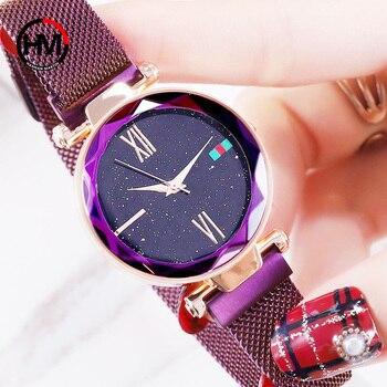 Star Rhinestone Watches Women Bracelet Luxury Brand Fashion Creative Ladies Quartz Wristwatches Steel Female Watch Relogio Clock