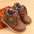 Crianças sapatos da moda Outono Meninos Meninas Martin botas Ankle Boots de couro PU Respirável Equitação Equestrian botas 04