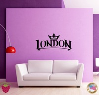 Autoadesivi della parete Della Decalcomania Del Vinile Fresco Decor Londra Inghilterra Europa Viaggi