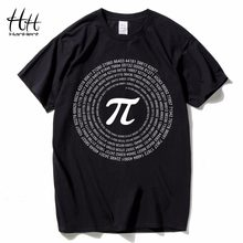 HanHent Novelty Pi Math T-Shirts Men's Cotton Loose Short Sleeve Tee shirts Geek Style Tshirt Nerd Casual Men T shirts Tops(China)