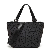 Large Shoulder Bags with Geometrical Design