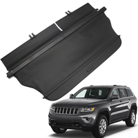 Car Rear luggage trunk Cargo Cover Parcel Shelf For Jeep Cherokee 2014 2015 2016 2017 Auto accessories Car cover