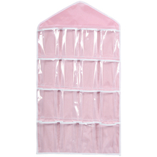 DIVV Органайзер 78*42 см 16 карманов подвесной шкаф для бюстгальтера нижнее белье Органайзер для хранения одежды вешалка* 30 подарок