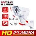 Rotativa 1080 P Bala Ao Ar Livre Câmera PTZ IP, 2.0MP 10X Zoom 80 M IR CCTV Câmera IP Slot Para Cartão SD Com Alarme POE Áudio Opcional