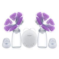 Breast Pumps With Milk Bottle Cold Heat Pad Double Electric Powerful Nipple Suction USB Breast Pump