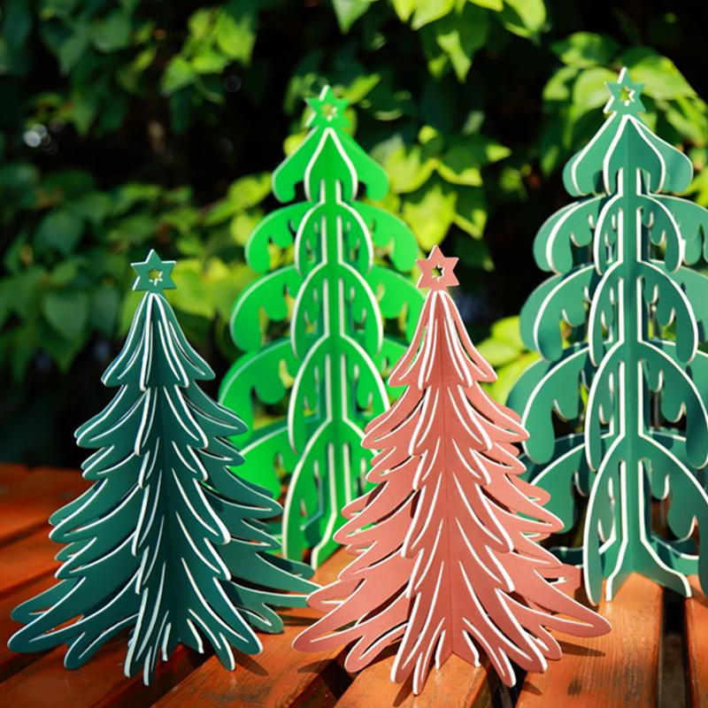 High Quality Paper Artificial Christmas 3D Tree Pine New ...