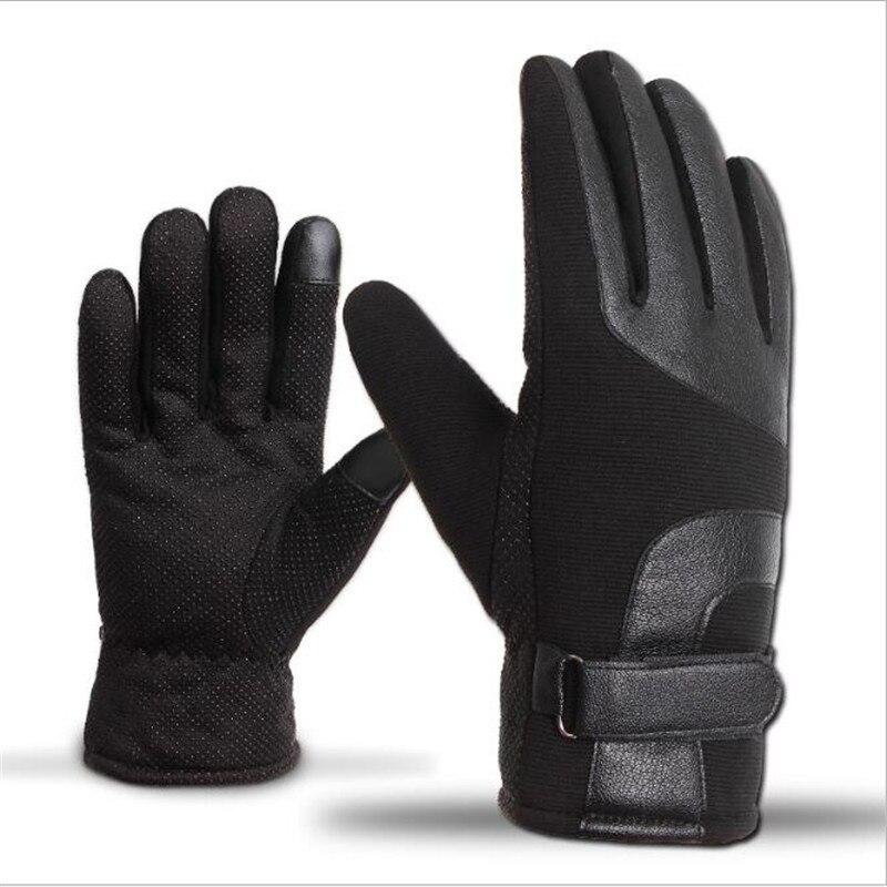 BINYEAE Motorrad Handschuhe Touchscreen Winter Wasserdichte Fahrrad Warme Handschuh Moto Radfahren Racing Schützen Guante Luvas da motocicleta