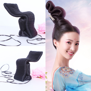 Image 3 - 29 Designs Top Hair Wig Partial Wig for TV Play Cosplay Fairy Princess Sword Lady Hair Wig for Stage Performance Photography