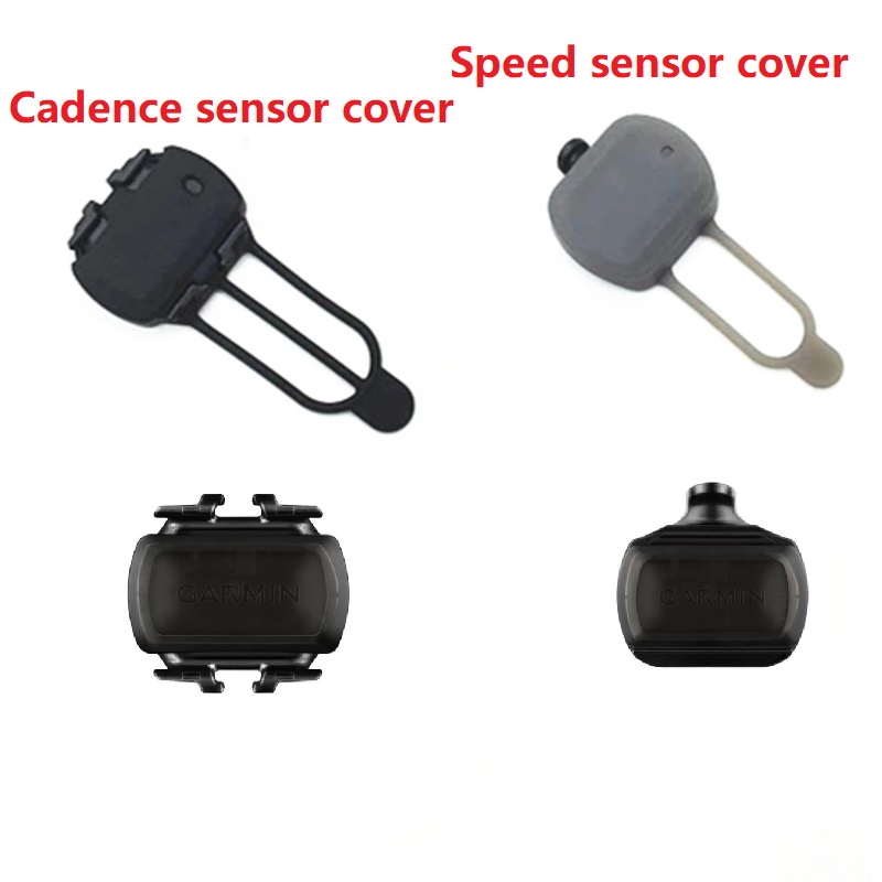 New Garmin Bike Speed & Cadence Sensor Cover Protective Case Edge ANT Sensor Protective Housing Bicycle Computer Accessories image