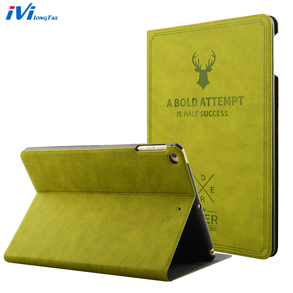For i Pad Air 1 2 2017 9.7 5 6 Case Silicone Leather Shockproof Flip Cover Case For Apple i Pad 2 3 4 Pro 9.7 10.5 mini 1 2 3 4