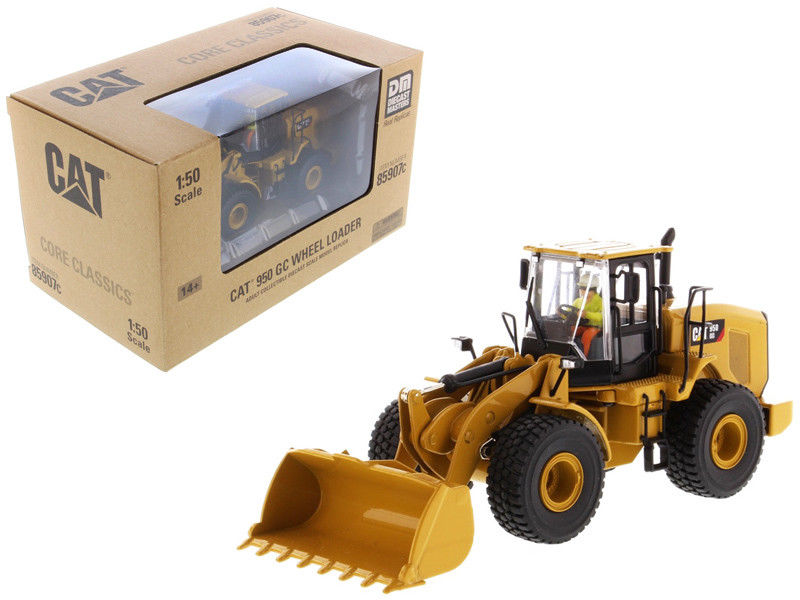 Здесь можно купить  CAT CATERPILLAR 950 GC WHEEL LOADER W/ OPERATOR 1:50 BY DIECAST MASTERS 85907C  Игрушки и Хобби