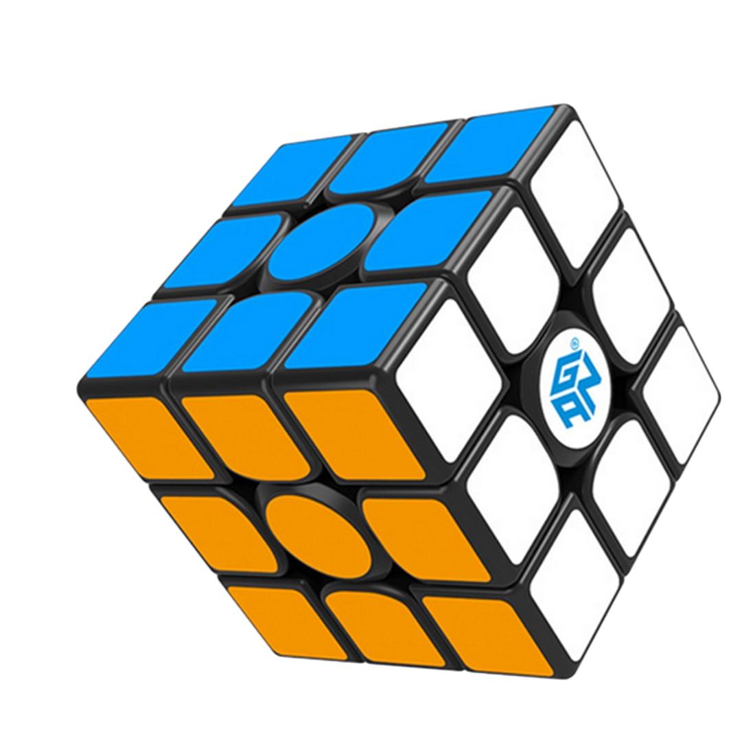 UTOYSLAND 60 pièces GAN356 Air SM Magnétique Version Speedcubing 3x3 Magic Cube pour La Compétition-Noir