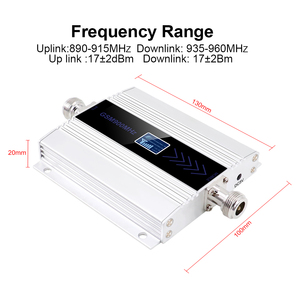 Image 2 - led display GSM 900 Mhz repeater celular MOBILE PHONE Signal Repeater booster,900MHz GSM amplifier + Yagi /Ceiling Antenna