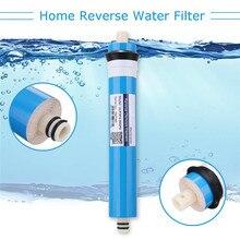 50GPD-400GPD домашние кухонные сменные фильтры обратного осмоса RO мембрана система воды фильтр очиститель воды Очистка питьевой воды