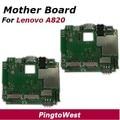 Original utilizado funcionaba bien mainboard placa madre lenovo a820 reemplazo proveedor de partes para lenovo a820 del envío libre