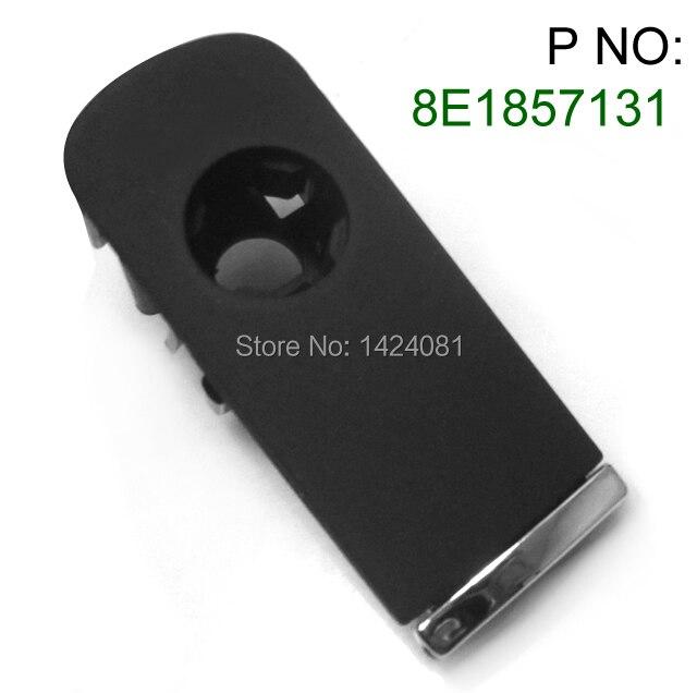 1x new for Audi A4 8E B6 B7 Black Glove Box Lock Lid Handle With Lock Hole Plastic w/ Chrome  8E1857131 A0031