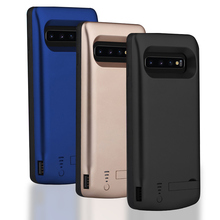 New 5000/6000mAh Battery Charger Case For Samsung Galaxy S10 S10e S10 Plus Silicone Shockproof Case Slim Power Bank Phone Cover