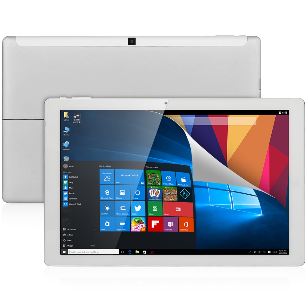 "Tablet PC CUBE iwork12 tablet windows android IPS Tablet 12.2"" 1920x1200 Intel Cherry Trail Z8300 Quad Core 4gb ram 64gb rom"