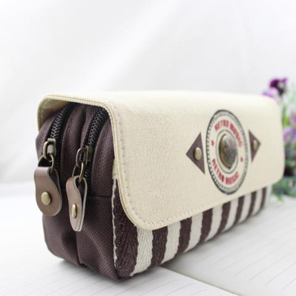 Navy Stripe Pencil Pen Case Cosmetic Pouch Pocket Brush Holder Travel Makeup Bag In Storage Bags From Home Garden On Aliexpress Alibaba Group