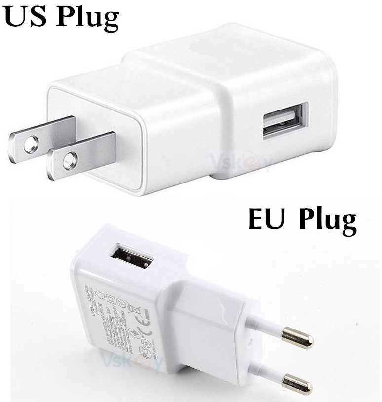 VSKEY 2A USB Wall Charger For Nokia 8 Sirocco N1 OnePlus 6 5T 3T Google Pixel 2 XL Moto Z2 Play Type C Cable Travel Adapter