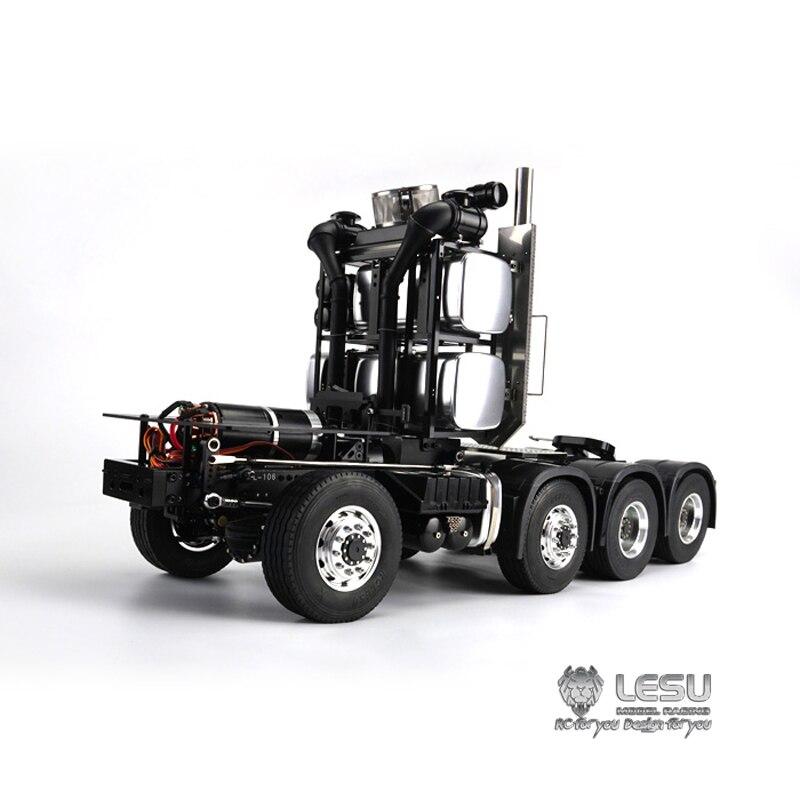 1/14 camion homme full drive 8X8 robuste tracteur châssis cadre couple élevé électrique modèle LS-20130017 RCLESU Tamiya tracteur