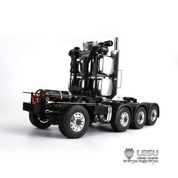 1/14 truck MAN full drive 8X8 heavy duty tractor chassis frame high torque electric model LS-20130017 RCLESU Tamiya tractor