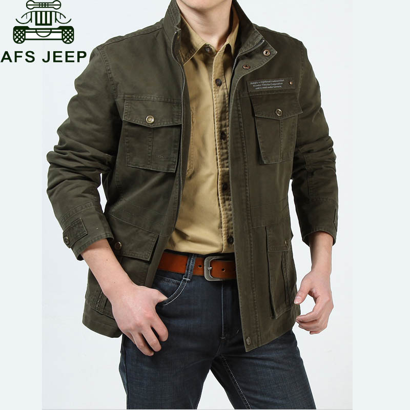 AFS JEEP Brand Jacket Men 2018 Thick Warm Fleece Winter Jacket Men Army Military Jackets Coats With Many Pockets Chaqueta Hombre все цены