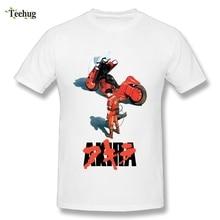 2018 New Arrival Mens Akria Neo Tokyo T Shirt Cool Shotaro Kaneda Motorcycle T-shirt