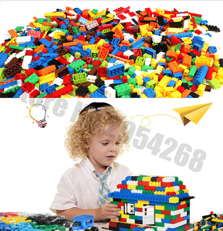 Neue Pädagogische blöcke Groß Ziegel fit legoings ziegel city ideen modell bausteine Kreative diy Spielzeug geburtstag geschenk kinder