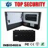Inbio460 4 Doors Access Control Panel ZK Fingerprint Door Access Control System With Power Supply Box