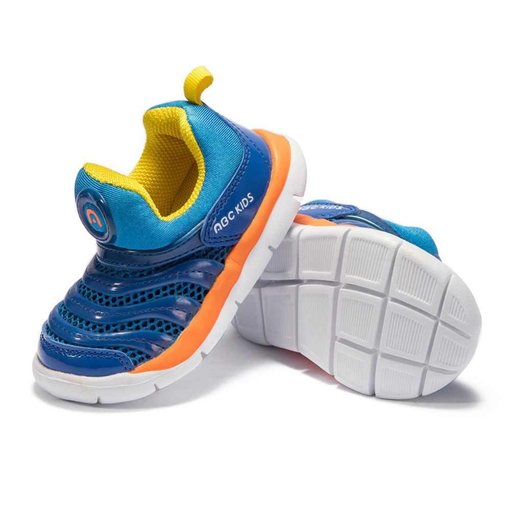 Abckids 2-7 T กีฬารองเท้าเด็กรองเท้าเด็กรองเท้าผ้าใบหนารองเท้าฤดูใบไม้ร่วงฤดูใบไม้ร่วงฤดูใบไม้ร่วงลื่นสวมใส่