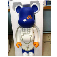 1000% 70cm Fashion Bearbrick Be@rbrick DIY Building Blocks Toy DIY Graffiti Action Figure Gloomy Bear Collectible Model Toy H96
