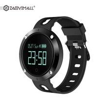 Zaoyimall DM58 smart Сердечного ритма крови Давление часы IP68 Спортивный Браслет Смарт фитнес-трекер для IOS Android