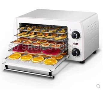 Household dried fruit machine Fruits and vegetables dehydration dry meat food machine Snacks in the dryer dried fruit machine dehydration air dryer fruit and vegetable pet meat food dryer