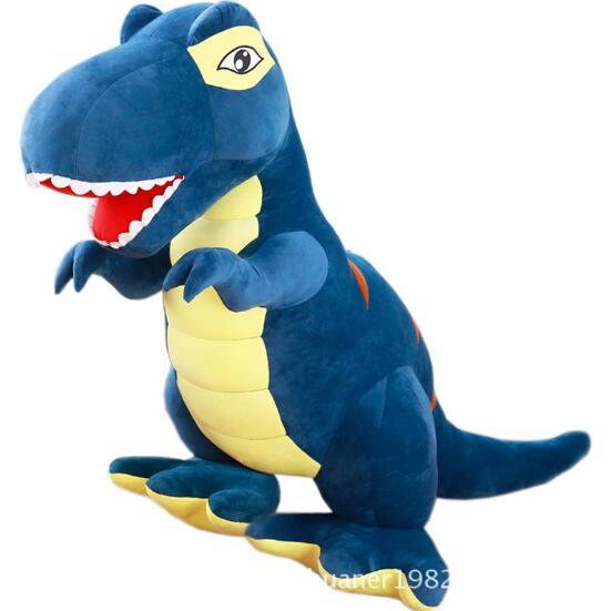160 см большая тираннозавр кукла динозавр плюшевая игрушка кукла с подушкой для сна детский подарок большой размер - 3
