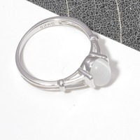 CiNily Authentic 925 Sterling Silver Latesst Twilight Bella Moonstone Wholesale for Women Jewelry Wedding Ring Size 6-10 SR001 4
